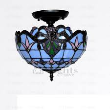 classic black wrought iron fixture blue ceiling lights