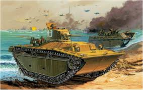 amphibious tank lvt a 1 alligator mark i landing vehicle tracked a armored