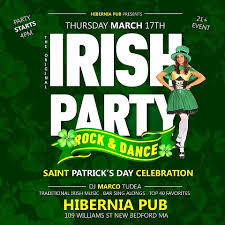 2016 southcoast st patrick u0027s day specials parties 21 only