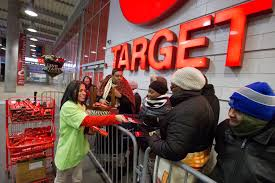 target gift card deal during black friday target shoppers nationwide score doorbusters as black friday gets