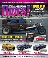 rides magazine september 7 2017 by stott media issuu