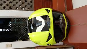 Helm Catok pinlock 70 helm zeus zs 811 al6 fluo yellow