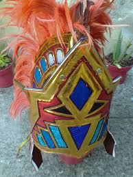 imagenes penachos aztecas penacho azteca concheros con plumas cualquier color 950 00 en