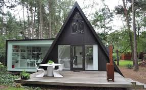 a frame cabin designs modern extension to a small a frame home