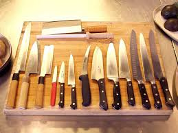 Knives Kitchen The Only 3 Kitchen Knives You Need Business Insider