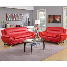 red living room sets you u0027ll love wayfair