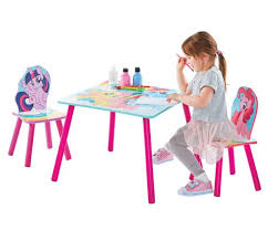 little table and chairs my little pony table chairs by hellohome