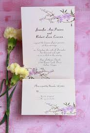 Wedding Invitation Card Wordings Wedding Inexpensive Romantic Cherry Blossom Wedding Invitation Card Ewi080