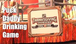 your unofficial nhl thanksgiving showdown puck