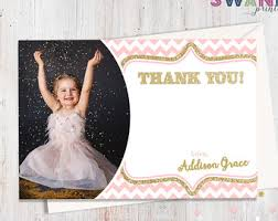 photo thank you card etsy