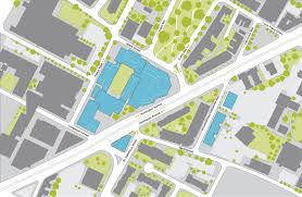 Boston College Campus Map by Massart