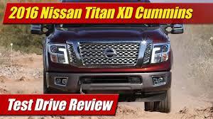 nissan titan quiet performance exhaust test drive 2016 nissan titan xd cummins testdriven tv