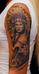 Wolf Indian Tattoos - tattoos top 100 for the free spirited