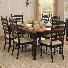 Country Charm Two Tone 7 Piece Dining Table Set Overstock