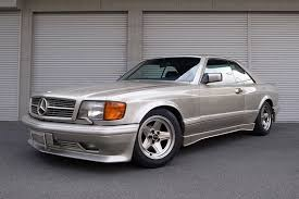 mercedes 560 sec amg for sale 1989 mercedes 560sec amg 6 0 widebody german cars for sale
