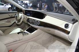 mercedes maybach s500 mercedes maybach s500 interior at the 2015 chengdu motor show