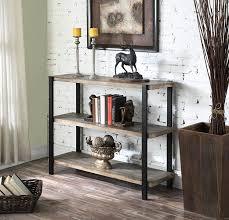 amazon com convenience concepts wyoming 3 tier console bookcase