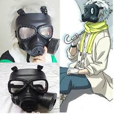 Halloween Gas Mask Costume Anime Cosplay Dramatical Murder Dmmd Clear Gas Mask Helmet