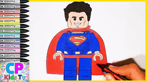 lego superman coloring pages for kids part 12 superman coloring