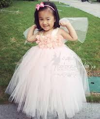baby dresses for wedding blush flower dress baby s flowers dress tulle