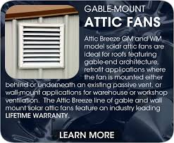 wall mount whole house fan attic breeze product models