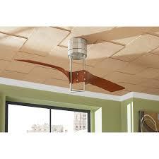island breeze ceiling fans shop harbor breeze revel island 52 in brushed nickel flush mount