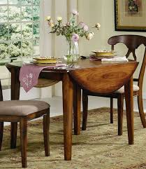 Kitchen Brilliant Round Table And Chairs With Leaf Home Drop Plan - Round drop leaf kitchen table