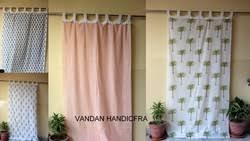 Decorative Curtains Hand Block Print Curtains Hand Block Print Curtain Decorative