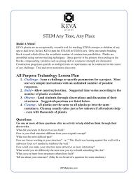 Special Education Worksheets Lesson Plans Challenges Games U0026 Activities U2014 Keva Planks