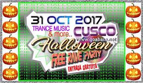 halloween free party 31 oct 2017 cusco peru goabase