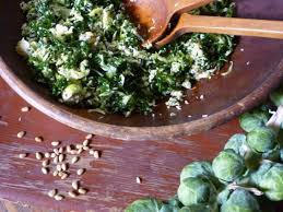 kale and brussels sprout salad recipe nancy fuller food network
