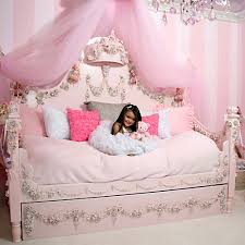 Daybed With Canopy Princess Rose Daybed And Luxury Baby Cribs In Baby Furniture