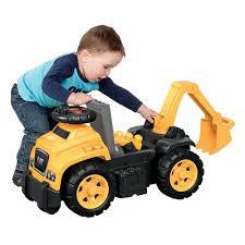 mega blocks cat with excavator ride on mega bloks toys