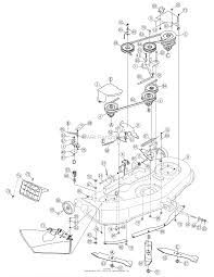 mtd 13an771h729 2007 parts diagram for deck assembly 46 inch
