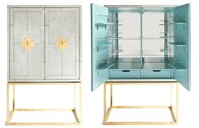 Jonathan Adler Bar Cabinet 10 Stylish Bar Carts To Upgrade Your Cocktail Hour Washingtonian