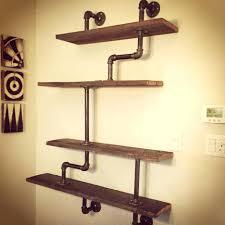 kitchen ideas diy diy pipe shelves kitchen and wood plans ideas lawratchet com