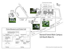Harvard Map Plan Your Visit To Harvard Forest Harvard Forest