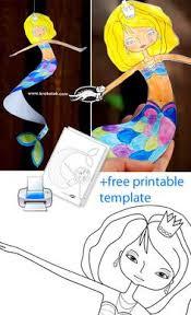 disney u0027s mermaid crafts activities coloring pages