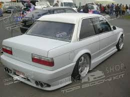 Bmw E30 Rear Valance Rear Bumper V Look Bmw E30
