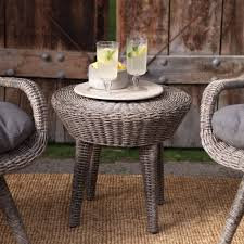 Patio Furniture Wicker Resin - weather resistant wicker resin patio furniture set with 2 chairs