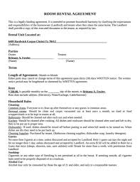 room rental agreement template free download create edit fill