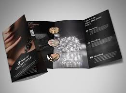 jewelry store brochure template mycreativeshop
