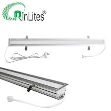 led linear tube lights eleodoro led linkable recessed linear light 1500mm 23w