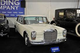 600 mercedes for sale auction results and data for 1967 mercedes 600 gooding and