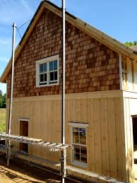 board and batten siding with cedar shakes google search