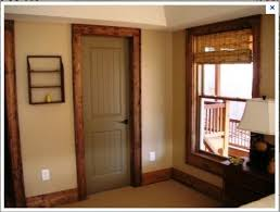 black doors with wood trim 45 kb jpeg painted interior
