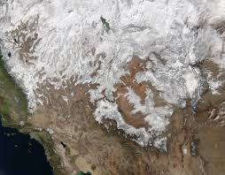 Southwestern United States Map by Snow Across The Southwest Natural Hazards