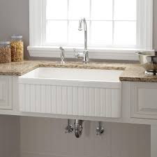 Kitchen  Farm Kitchen Sink For Stunning Fireclay Farmhouse - Kitchen sinks sydney