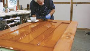 Exterior Door Varnish Finishing An Exterior Door Ep 7 Applying The Varnish