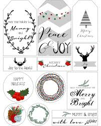 printable christmas tags u2013 happy holidays